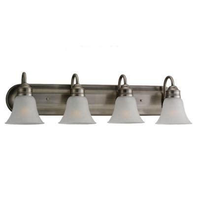 sea gull lighting gladstone 4 light antique brushed nickel