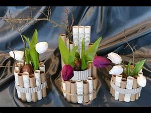Frühlingsdeko Selber Basteln : fr hlings und osterdeko basteln mit alten buchseiten doovi ~ Markanthonyermac.com Haus und Dekorationen