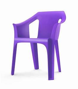 Fauteuil Bain De Soleil : fauteuil plastique jardin empilable en r sine cool ~ Teatrodelosmanantiales.com Idées de Décoration