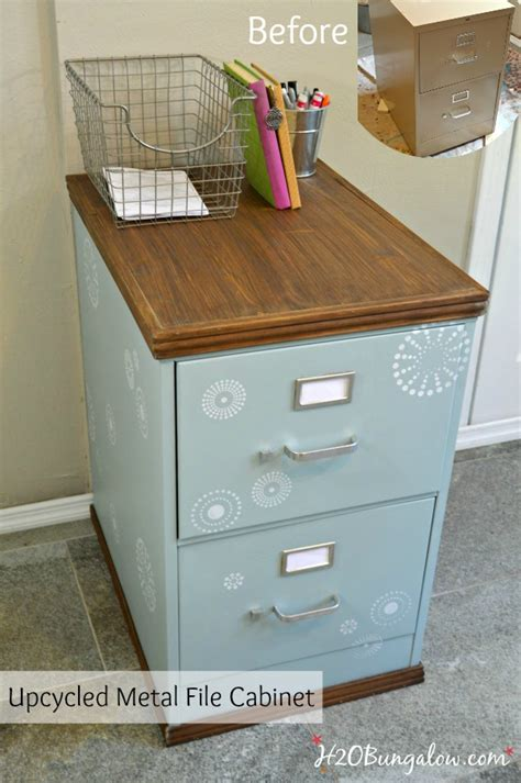 how to dress up a metal file cabinet wood trimmed filing cabinet makeover metals filing and