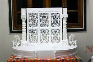 Ganesh Chaturthi Decoration for Home, Makhar, Flower