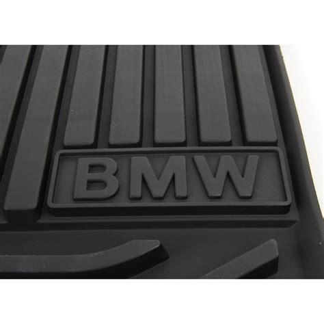 BMW - Melni priekšējie gumijas paklāji BMW 5. sērijas ...