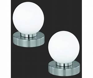 Tischleuchte Dimmbar Touch : 2er set tischleuchte nachttischleuchte lampe touch me funktion dimmbar ebay ~ Markanthonyermac.com Haus und Dekorationen