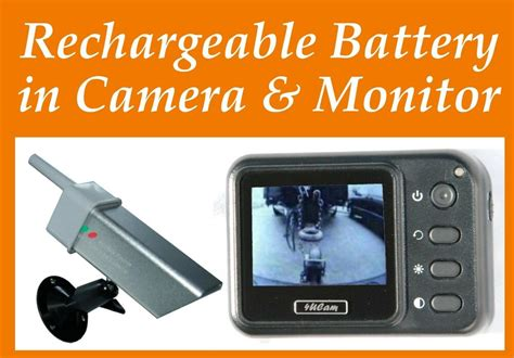 Portable Monitor Wireless Backup Car Camera Rechargeable