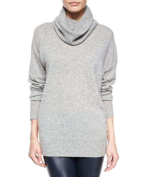 slouchy sweater the row superfine blend slouchy turtleneck
