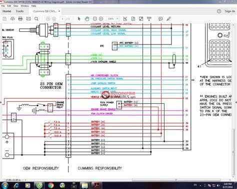 Cummins Isb Cmx Pin Wiring Diagram Auto