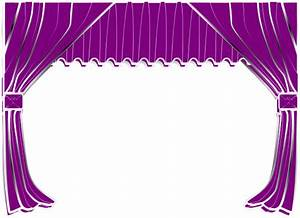 purple curtains clip art at clkercom vector clip art With light blue curtains png
