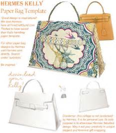 Paper Purse Gift Bag Template