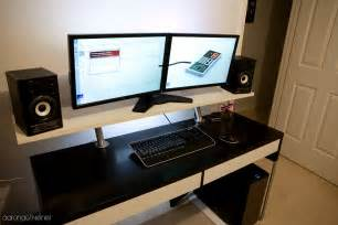 ikea micke desk hack my ikea desk hack total cost was