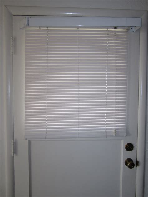 good   ideas  front door blinds interior