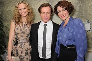 It's odd kissing Toby Stephens with his wife in the cast ...