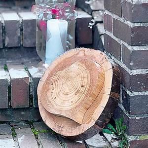Basteln Mit Baumscheiben : die besten 25 baumscheiben deko ideen auf pinterest baumscheiben winterdeko basteln und ~ Watch28wear.com Haus und Dekorationen