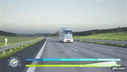 Future 2032 Truck Concept Semi Tesla Looking