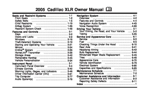 cadillac xlr owners manual  give   damn manual
