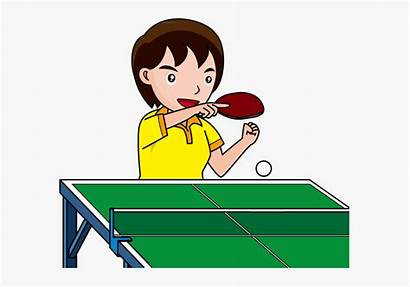 Tennis Clip Pong Ping Clipart Play Clipartkey