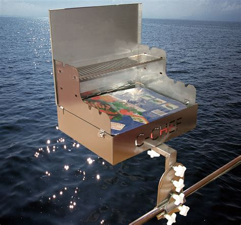 Boat Grill Used by Boat Barbecue Barbecues Boats Yachts Marine Bbq