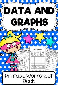 data  graphs worksheet pack  grade