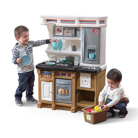 kitchen play sets lifestyle custom kitchen play kitchen step2