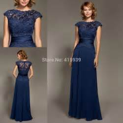 cheap navy blue bridesmaid dresses lesley navy blue bridesmaid dress lace chiffon cheap formal brides dress