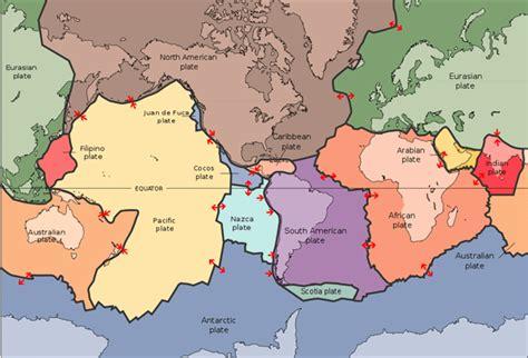 le eplaque les plaques tectoniques
