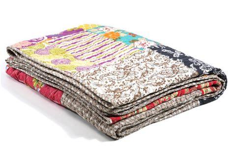plaid coton pas cher plaid patchwork en coton ottawa plaids pas cher declik deco