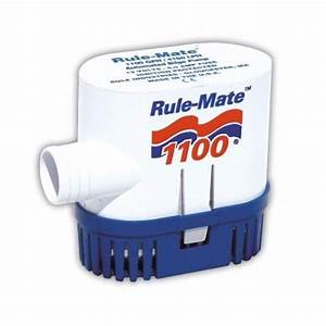 Rule 1100 Gph Rule-mate Bilge Pump