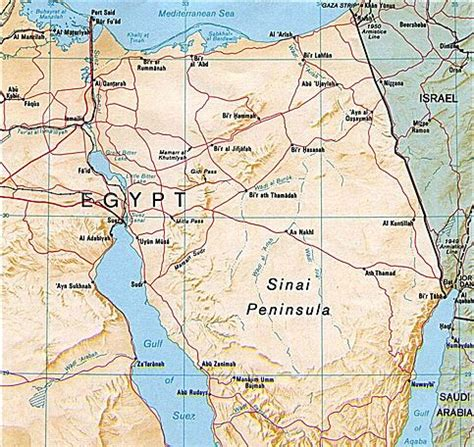 sinai peninsula pictures posters news and on