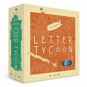 letter tycoon thinkgeek With letter tycoon game