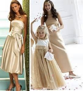 gold dresses for bridesmaids gold we do weddings