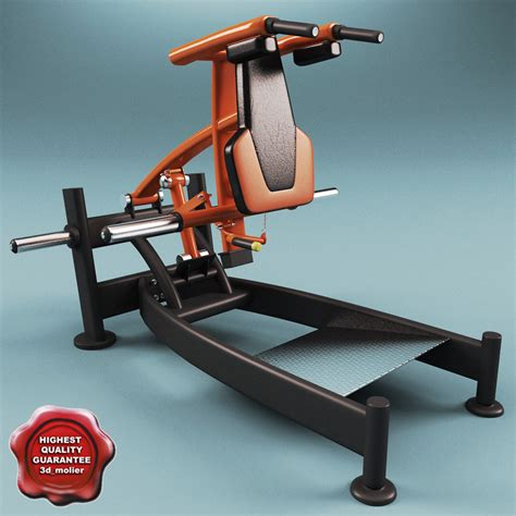 Leg Bench Press Machine 3ds max leg press squat machine