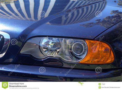 Shiny Sports Car Royalty Free Stock Photography
