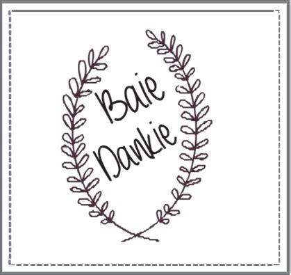 Baie Dankie Stamp 1 ? I Do Inspirations   Wedding Venues & Suppliers South Africa