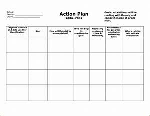 8  Action Plan Template Free