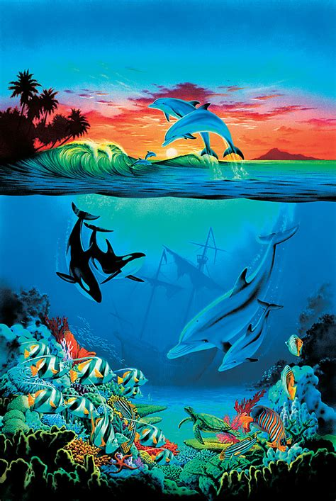 Under The Sea Wall Mural 25272005
