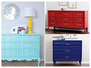 Tapisser Avec 2 Papiers Differents : comment relooker ses meubles de famille elle d coration ~ Nature-et-papiers.com Idées de Décoration