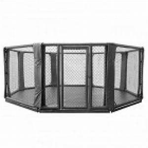 Octagon Cage 10cm Elevated from Floor 5 x 5 M - Fight ...