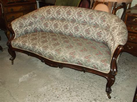 Settee Antique by Mahogany Frame Settee 253692 Sellingantiques
