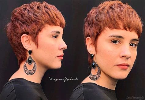 pixie cuts  thick hair trending
