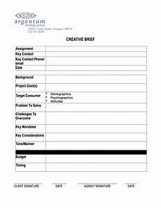 template creative brief template creative brief template With ogilvy creative brief template