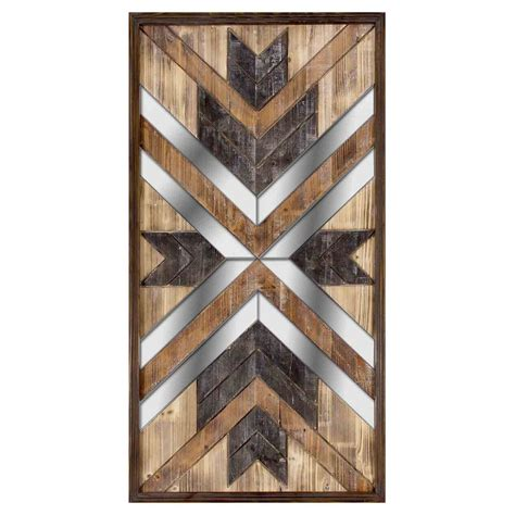 In this video, modern wall panel design decor ideas and home wall decor design ideas for home. Wooden Mirror Panel Wall Art- 23 x 43-in | At Home