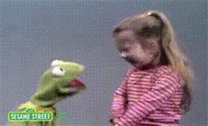 Kermit The Frog Driving Gif