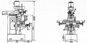 Milling Machine Drawing
