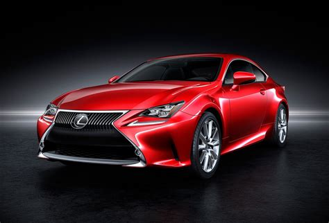 Lexus Rc Revealed; Rc 350 & Rc 300h First Models