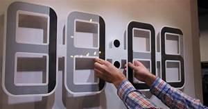 Cool Digital Clocks Wall | Best Decor Things