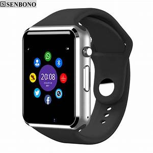 Bluetooth Smart Watch for Android Smartphones By SENBONO