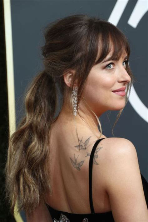 ponytail hairstyles dakota hair johnson styles easy beauty