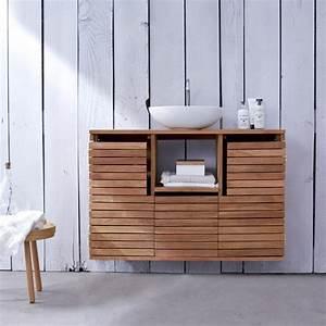 Waschtisch Bad Holz : waschtisch aus holz und andere rustikale badezimmer ideen ~ Sanjose-hotels-ca.com Haus und Dekorationen