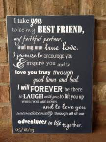 wedding wishes nautical i take you to be my best friend wedding sign by