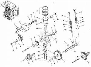 Robin  Subaru Ey18 Camshaft  Piston