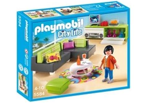 playmobil  chambre avec lit rond abapri france